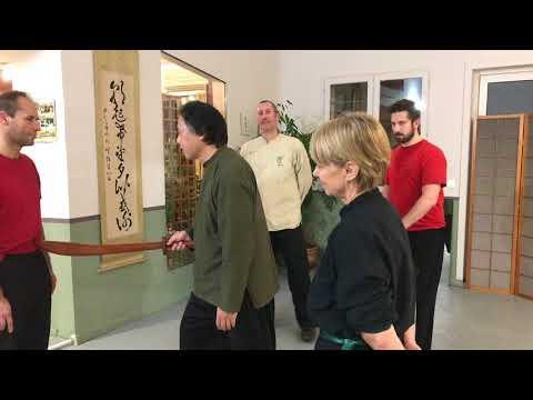 Cours de Qi gong martial sur le point d'équilibre