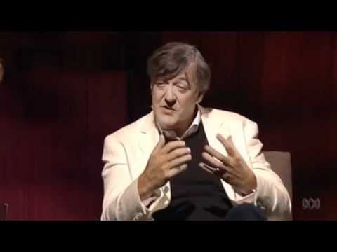 depression - Stephen Fry tries to eplain the feeling of manic depression.