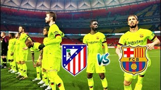 Download Video Atletico Madrid vs Barcelona | Suarez & Coutinho Amazing Goals | PES 2018 Gameplay HD MP3 3GP MP4