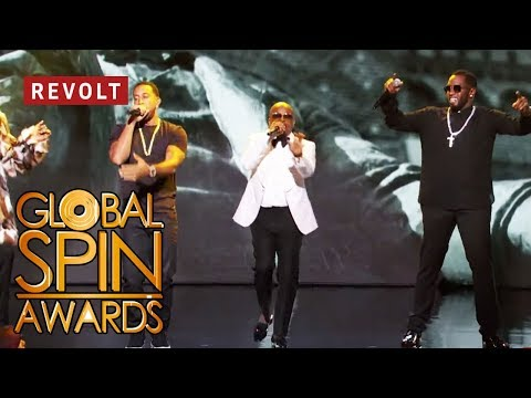 Diddy, Jermaine Dupri, Snoop Dogg, And Ludacris Perform 'Welcome To Atlanta' | Global Spin Awards