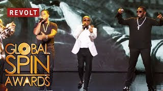Video Diddy, Jermaine Dupri, Snoop Dogg, and Ludacris perform 'Welcome to Atlanta' | Global Spin Awards MP3, 3GP, MP4, WEBM, AVI, FLV Desember 2018