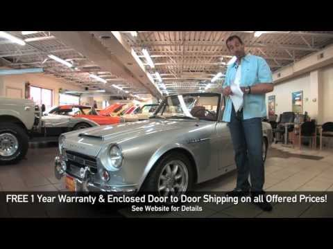 1969 Datsun 2000 Roadster FOR SALE TEST DRIVE flemings ultimate garage