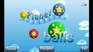 Planet Balls Demo YouTube video