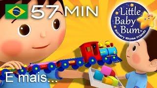 Os melhores vídeos educativos no YouTube - belíssima e colorida animação 3D em fantástico HD!Grande compilação da LBB! Agora disponível para compra/descargahttps://bamazoo.com/littlebabybumbrazilBrinquedos: http://littlebabybum.com/shop/plush-toys/© El Bebe Productions Limited00:04 Canção Arrumação01:46 Três Gatinhos04:03 Vou vou vou remando - Versão 206:43 As rodas do ônibus - Versão 608:40 Três Gatinhos - Versão 210:54 Não Há Monstros Que Vivem Em Nossa Casa!13:23 Seis Patinhos15:18 Este Porquinho16:57 Os Sons dos Animais19:17 É assim que escovamos os dentes20:59 Enrole a bobina22:54 As rodas do ônibus - Versão 724:49 Canção das Cores e Objetos26:03 O Velho Grão Duque de York27:19 Pães Quentinhos28:35 Está Chovendo e Muito29:41 Pequena Bo Peep31:03 Maria tinha um cordeirinho32:45 Senhor Sol34:28 Girando à volta da amoreira36:11 Dez na cama38:41 Seu MacDonald tinha um sítio - Versão 240:57 Gira, gira a roda42:25 Durma Neném44:25 Vou vou vou remando - Versão 145:35 Trem das Formas47:40 Estrela de luz, estrela brilhante49:35 Meu Ursinho, Meu Ursinho51:22 Tema LittleBabyBum52:40 Dizendo as Horas (Que Horas São)54:18 O velhinho