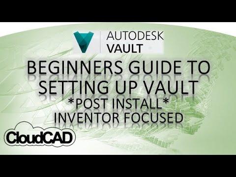 How to set up Vault Basic | Autodesk Vault