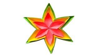 Цветок из бумаги Поделки оригами на 8 марта