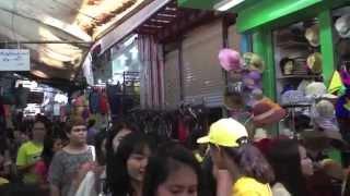 バンコク市内観光プラトゥナーム市場