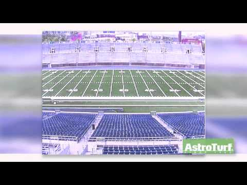 Finley Stadium - AstroTurf Installation Time Lapse
