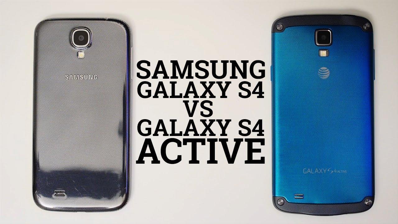 Descargar Samsung Galaxy S4 vs Galaxy S4 Active para Celular  #Android