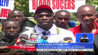 Kenyan Athletes Call For Resignation Of The Current Office Led By The President Isaiah Kiplagat
