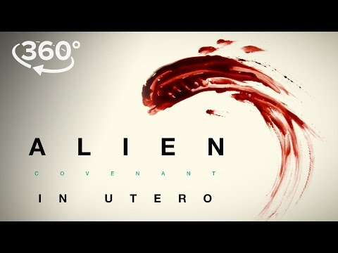 Alien: Covenant Viral Video 'In Utero - A 360 Virtual Reality Experience'