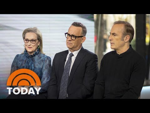 Meryl Streep, Tom Hanks And Bob Odenkirk Talk About 'The Post' | TODAY
