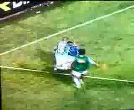 Gol de Paolo Cannavaro en el Nápoli