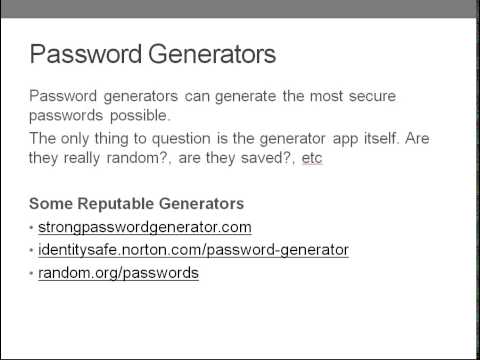 Learn Complete Wordpress Security - Chapter 3- Safe and Secure Passwords