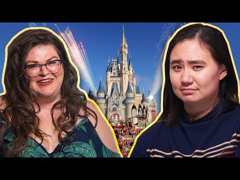 Can Kristin Convince Her Friends To Like Disney World?