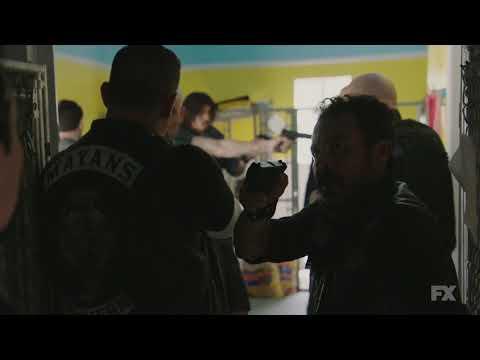 "Mayans Mc Season 1 ""Dog house Fight"" Clip"