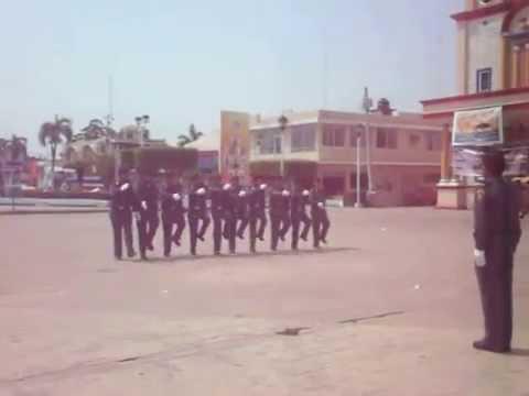 xxx TABASCO xxx - Presentación de la Escuela del Pelotón del Personal Juvenil varonil de la Zona XXX Veracruz del Pentathlon Deportivo Militarizado Universitario durante la re...