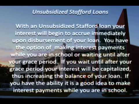 What are Stafford loans?