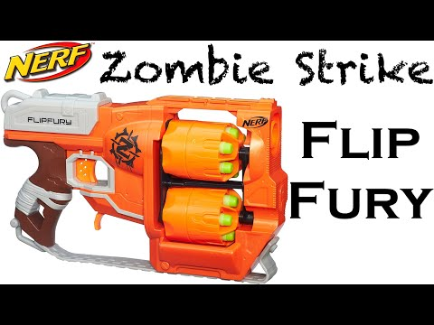 Strike - Hey guys, today I am showing you my unboxing and review of the zombie strike flipfury! I hope you enjoy :D.