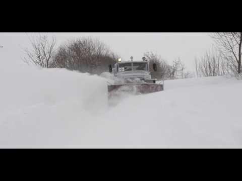 Рівненські рятувальники розчистили від снігу 120 кілометрів автодоріг області [ФОТО+ВІДЕО]