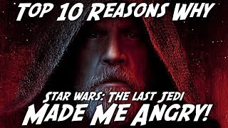 Video Top 10 Reasons Why The Last Jedi Made Me ANGRY! MP3, 3GP, MP4, WEBM, AVI, FLV April 2019