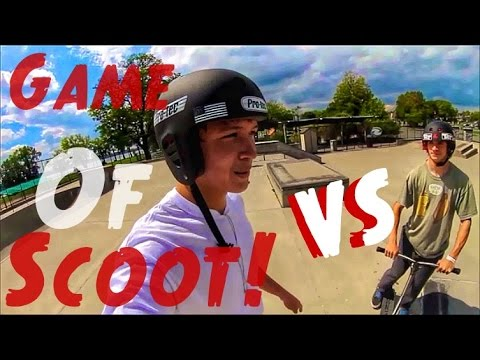 GAME OF SCOOT! | Tony Pham Vs  Mikal Holbrook
