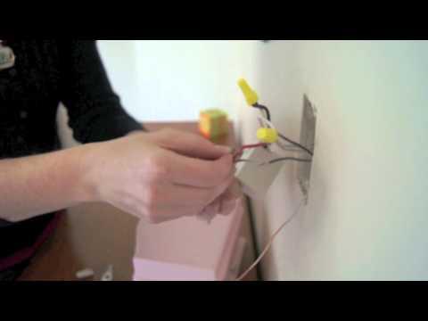 Como instalar un interruptor doble en una luminaria (tres vias)