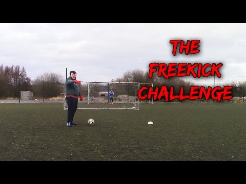 THE FREEKICK CHALLENGE W/FORFEITS