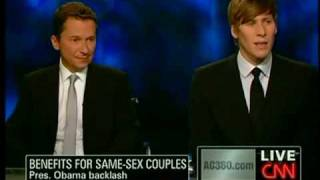 Richard Socarides and Dustin Lance Black - 06/17/09