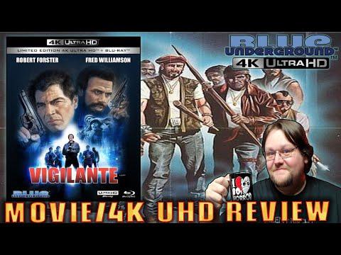VIGILANTE (1983) - Movie/Limited Edition 4K UHD Review (Blue Underground)