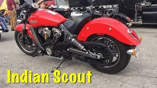 9. 2016 Indian Scout Review - Wildfire Red Test Ride