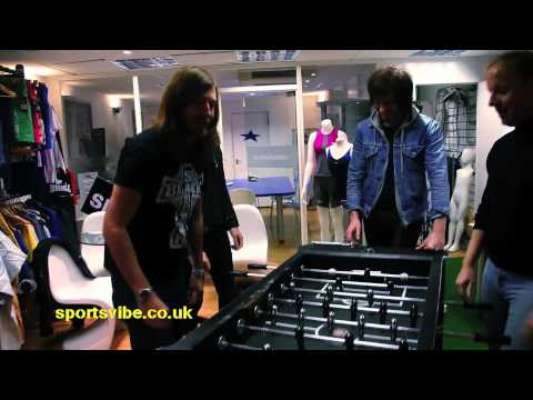 Sound of Guns talk Music, Merseyside and Table Football