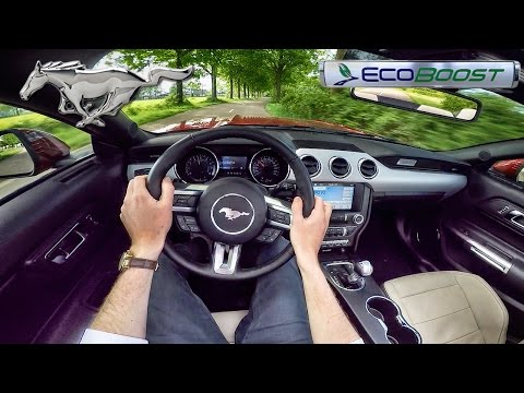 Ford Mustang EcoBoost POV Test Drive by AutoTopNL