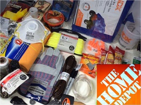 Home Depot Urban Survival Kit: Bug Out Bag (видео)