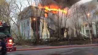 Glens Falls (NY) United States  city photos gallery : Sherman Square Apartments Fire. Glens Falls NY