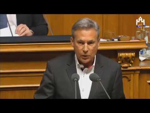 Fraktionschef Adrian Amstutz zur Nichtumsetzung der MEI