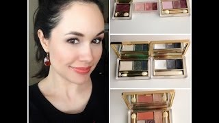 ESTEE LAUDER EYE SHADOW COLLECTION + SWATCHES! (including NEW FALL 2013 METALLIC TRIOS)