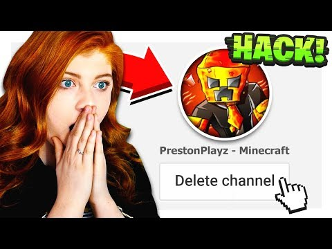 my sister HACKED my channel... (видео)