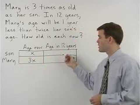 Age Problems Video