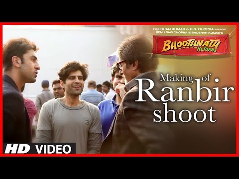 ranbir - Ranbir Kapoor finds the idea of Bhoothnath Sequel very novel and was very excited to be a part of Bhoothnath Returns.