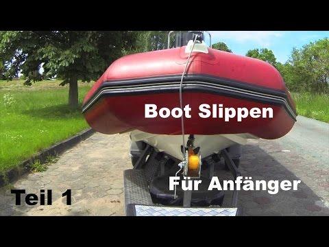 Tips und Tricks beim Boot slippen - Zodiac Pro 12 Man - 90PS Suzuki