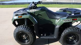 10. SALE $4,699:  Arctic Cat / Textron 2017 Arctic Cat Alterra 500 4X4 Overview and Review