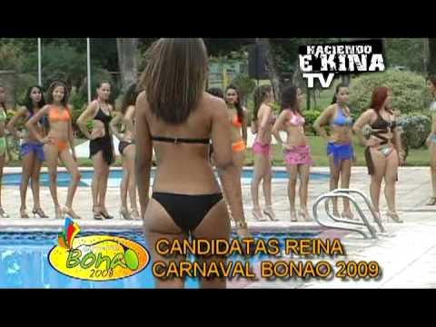 Candidatas a Reina del Carnaval de Bonao: CUANTAS BELLEZAS.