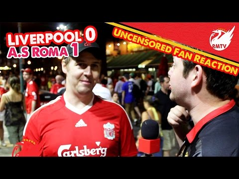 uncensored - This American Red was happy with the contribution of Emre Can despite Liverpool's 0-1 defeat to AS Roma at Fenway Park.... The Redmen TV is Uncensored LFC Television... Buy Redmen T-Shirts:...