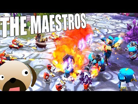 NEW RTS GAME! MOBA with Real Time Strategy Sprinkled In - The Maestros Gameplay