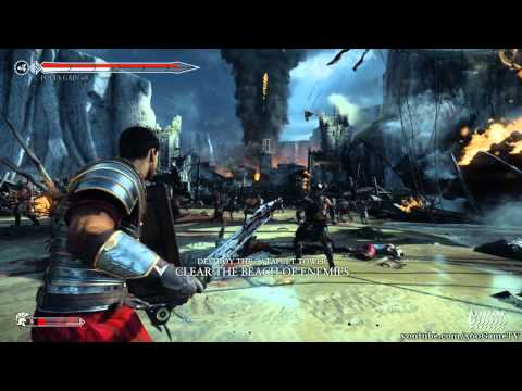 Ryse: Son Of Rome - Legendary Walkthrough - Chapter 3 Trial By Fire - HD