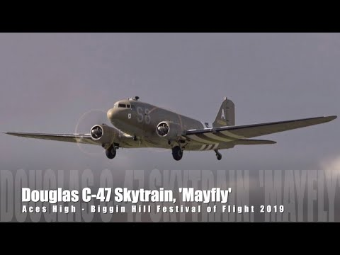 Aces High's Douglas C-47A Skytrain,...