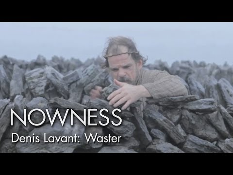 """Denis Lavant in """"Waster"""" by Philippe Prouff видео"""