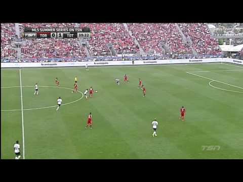 six - Toronto FC host Tottenham Hotspur in a friendly at BMO Field.
