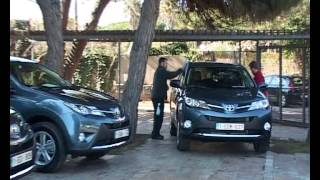 Test Drive New Toyota RAV4 2013, Spain